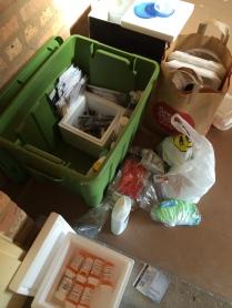 My growing pile of garbage
