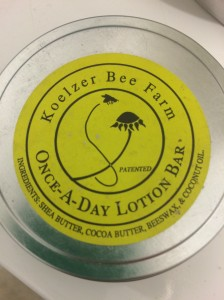 Koelzer Farms Lotion Bar I really loved!
